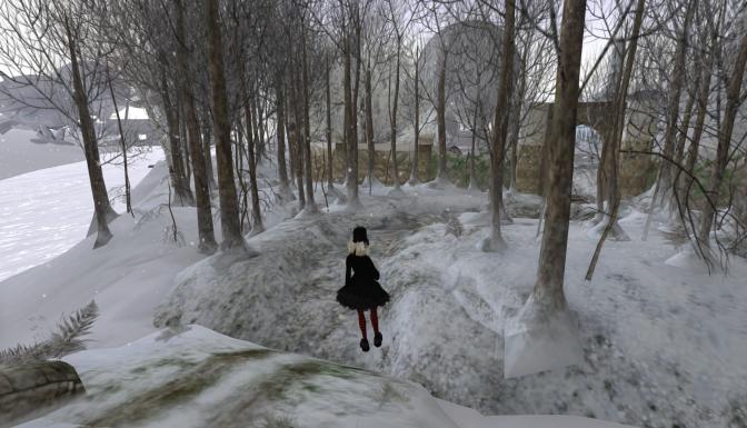 Finally Found Virtual Snow that Rezzed