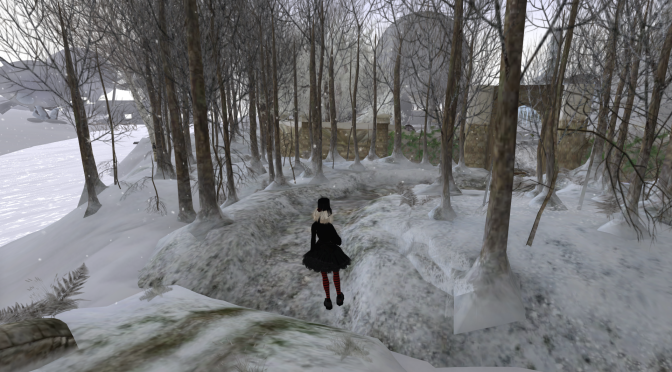 Finally Found Virtual Snow that Rezzed